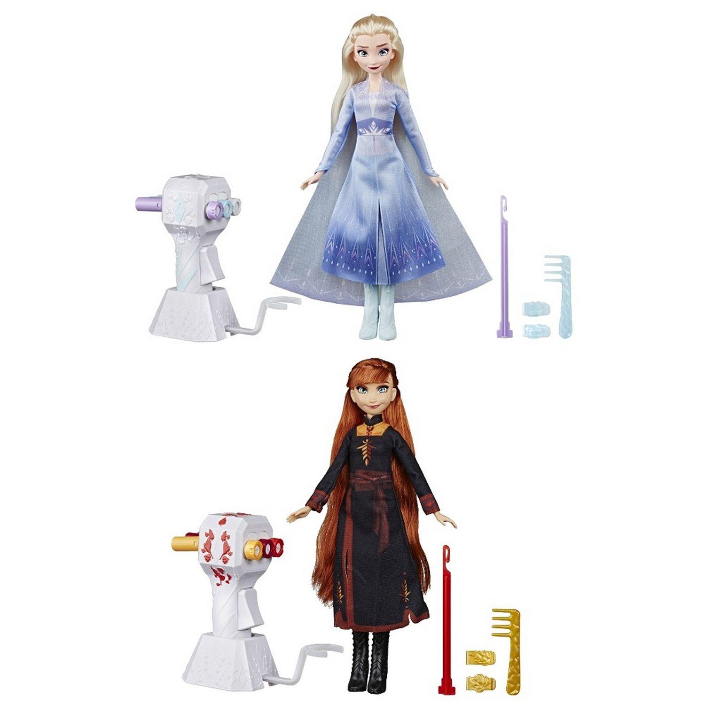 Купить Кукла Hasbro Disney Frozen Холодное Сердце 2 Магия причесок, Куклы Disney Princess