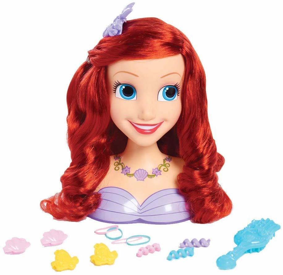 Купить Игровой набор Disney Princess Голова для причесок Ариэль 87110,