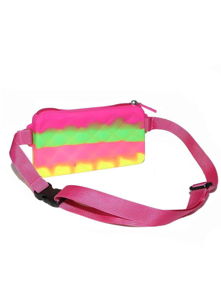 Купить Сумка детская Gummy Bags с ремнем на пояс, цв. Tornado Berry,