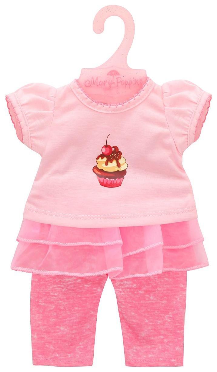 Купить Одежда для кукол 38-43см Футболка и штанишки Карамель , Mary Poppins