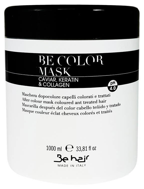 Маска для волос Be Hair Be Color After Colour Mask Caviar Keratin Collagen 1000 мл