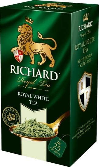 """Чай Richard """"Royal White Tea"""", белый, 25 пакетиков"""
