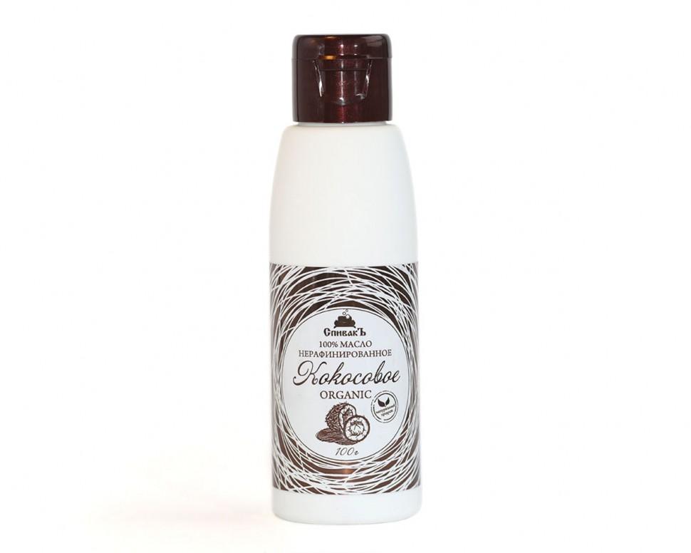 Масло для волос СпивакЪ Кокосовое Виржин нерафинированное 100 г