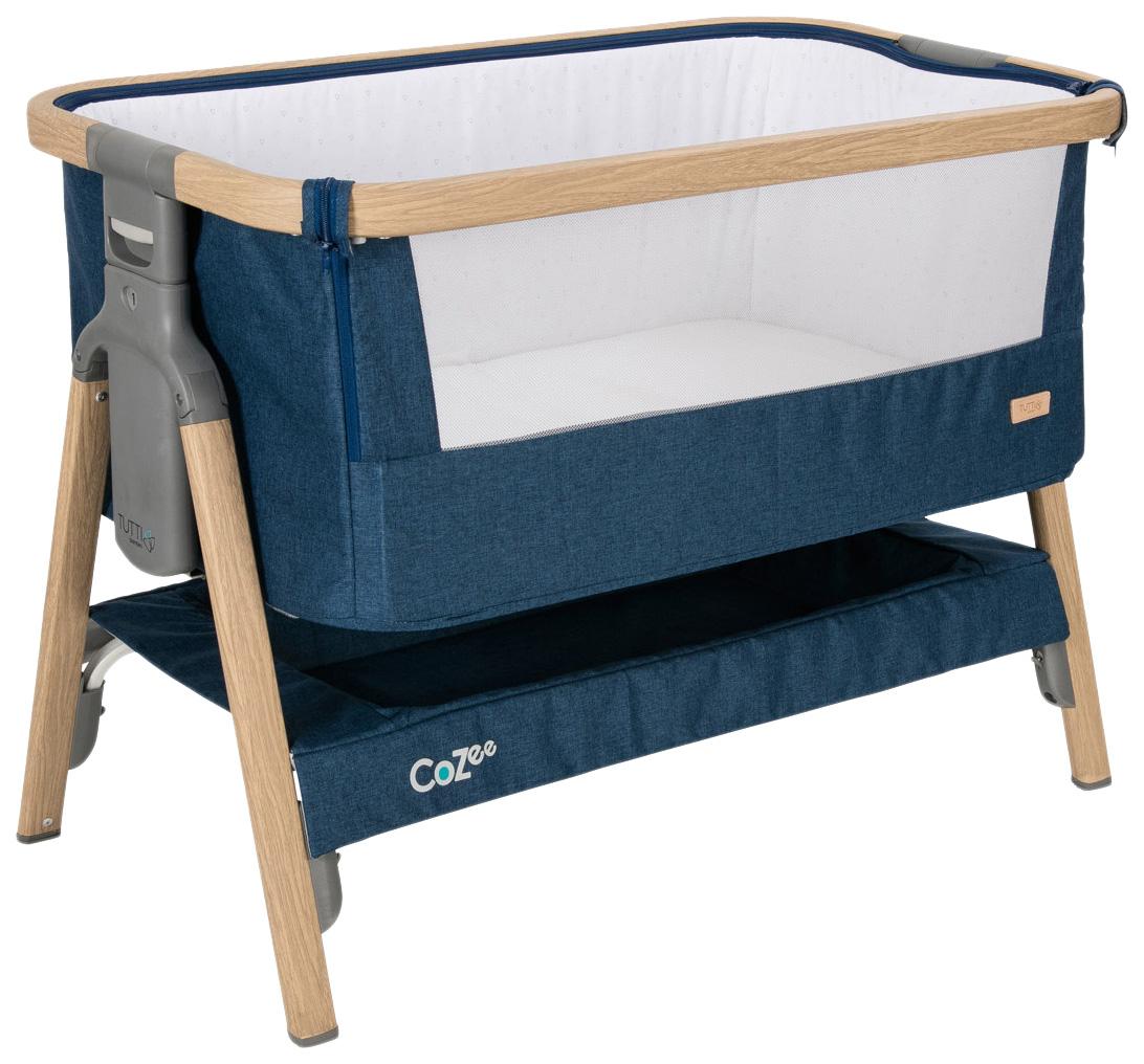 Купить Колыбель Tutti Bambini (Тутти Бамбини) CoZee Oak and Midnight Blue 211205/3594, Колыбели