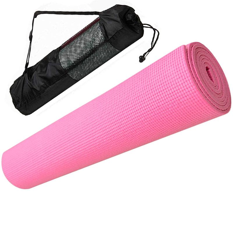 Коврик для йоги Hawk E29255 розовый