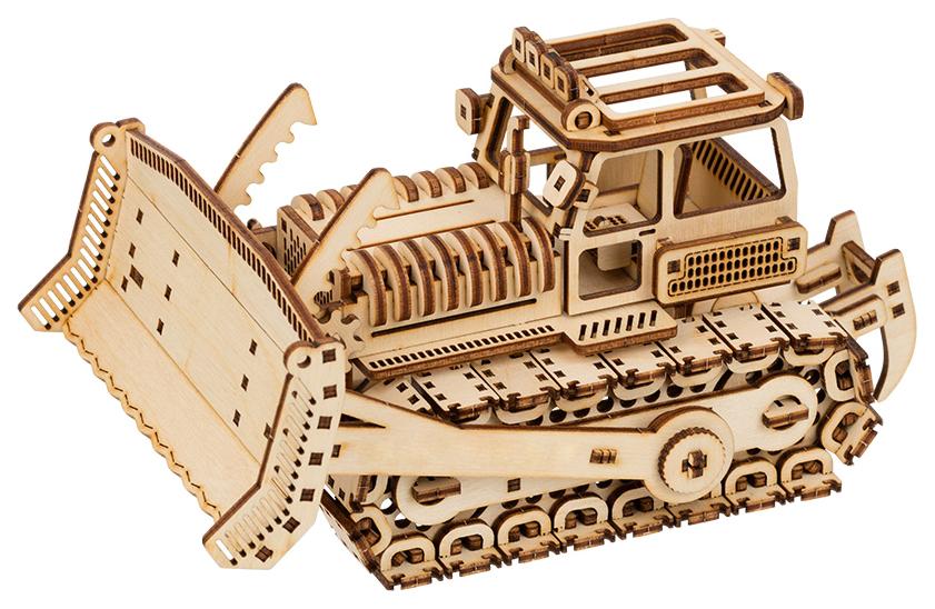 Купить 3D Пазлы Пазл 3D фанера бульдозер BIR-008, 20x11x12, 5 см от Rezark, 3D пазлы