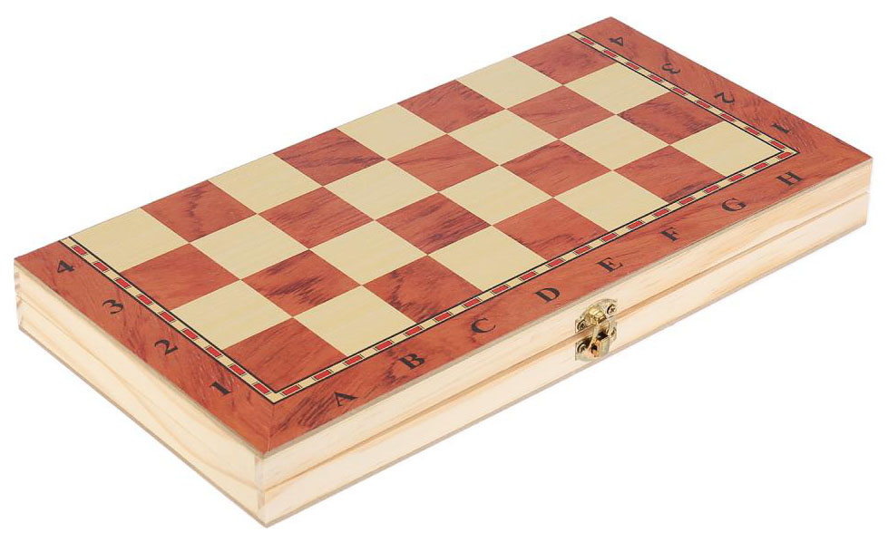 Игра настольная 3-в-1 (шашки, шахматы, нарды)