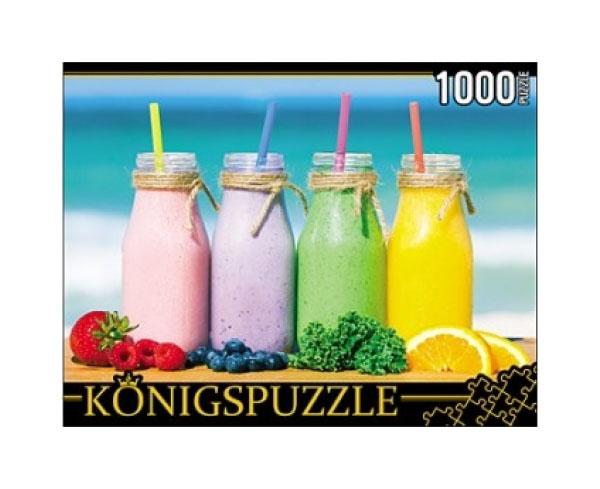 Купить Пазл Konigspuzzle Смузи на пляже ГИК1000-6535 1000 деталей, Königspuzzle, Пазлы
