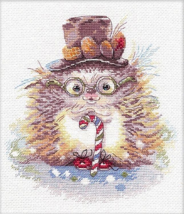 Набор для вышивания Овен Ежик джентльмен, арт.309272