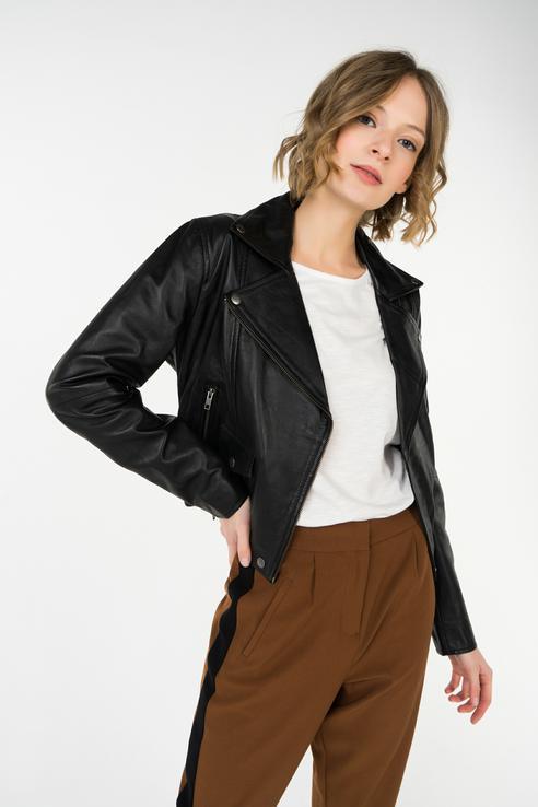 Куртка женская ICHI 20106935 черная 34 EU