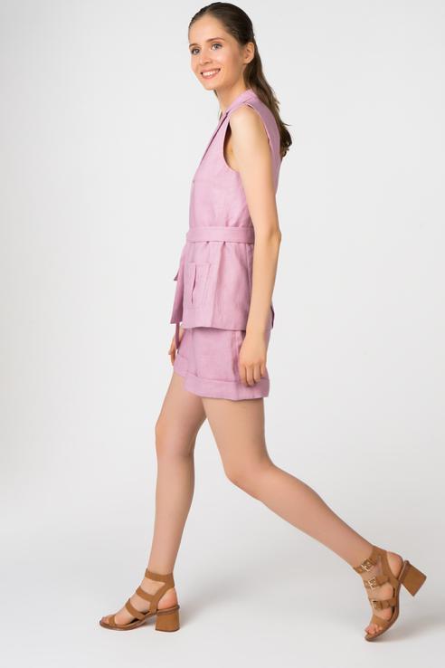 Жилет женский T-Skirt SS17-14-0450-FS розовый XS