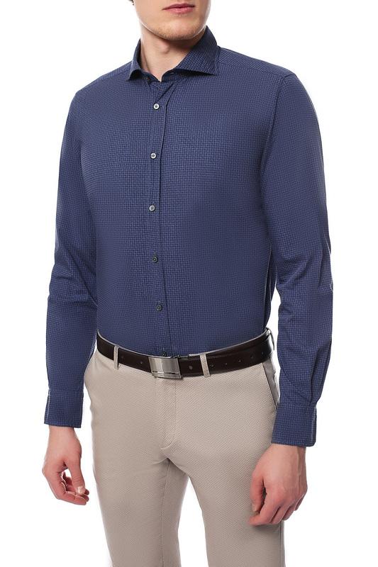 Рубашка мужская Windsor 10004180_420_30007187 синяя 42 DE фото