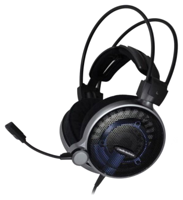Игровые наушники Audio-Technica ATH-ADG1X Blue/Black фото