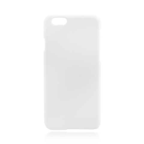 Пластиковая накладка Brosco Soft-touch для Apple IPhone 6 Plus, белая