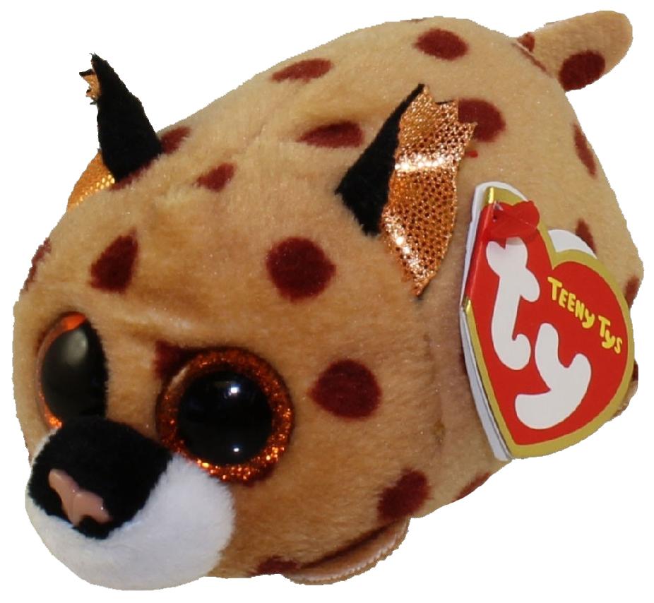 Купить Мягкая игрушка TY Рысенок Kenny Teenys, 10 см, Мягкие игрушки персонажи