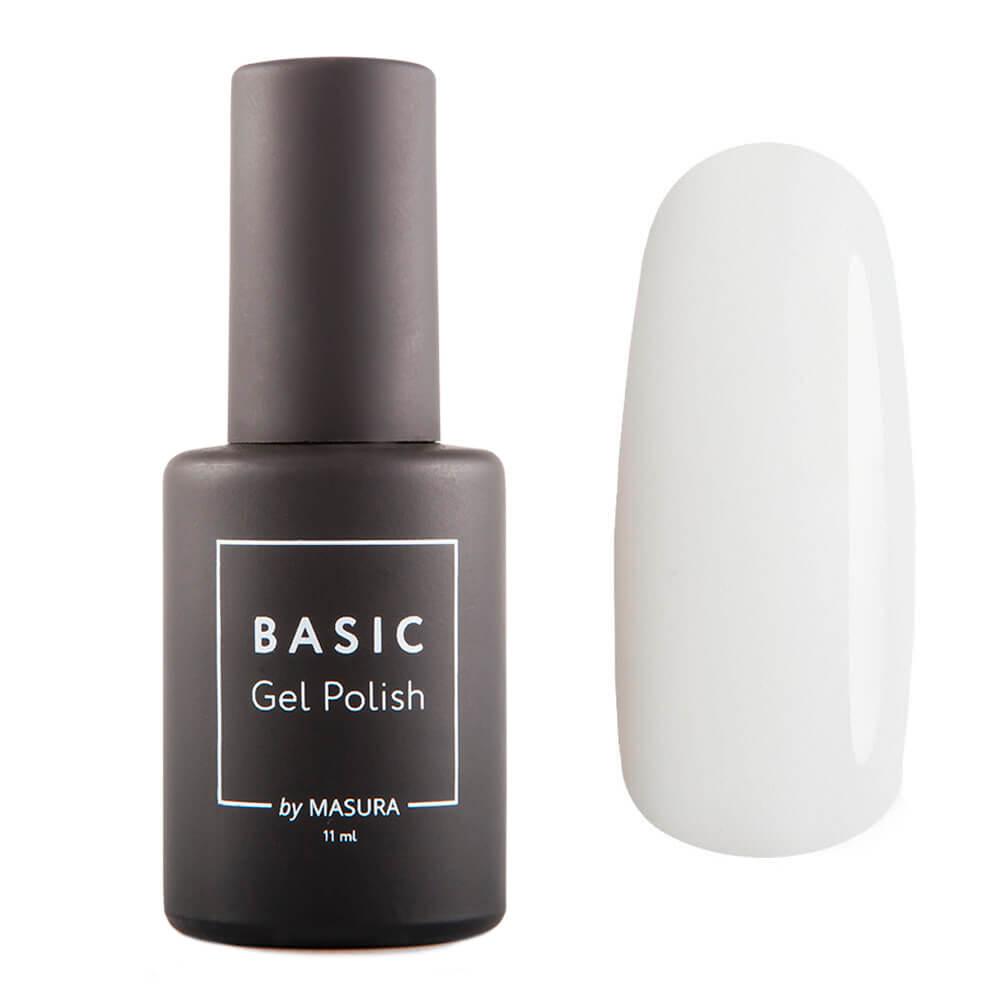 Гель-лак Masura BASIC Белый Бархат, 11 мл