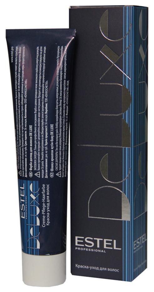 Краска для волос ESTEL De Luxe 10/01 Светлый блондин натурально-пепельный 60 мл