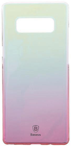 Чехол-накладка Baseus Glaze Case для Samsung Galaxy Note 8 (Pink)