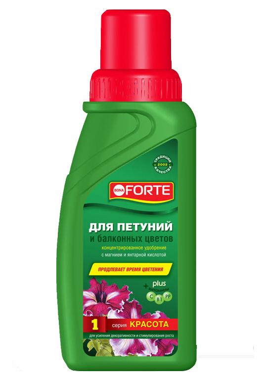 Удобрение Bona Forte для петуний и балконных