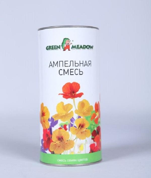 Семена Смесь цветов Ампельная, 0,05 кг Зеленый ковер