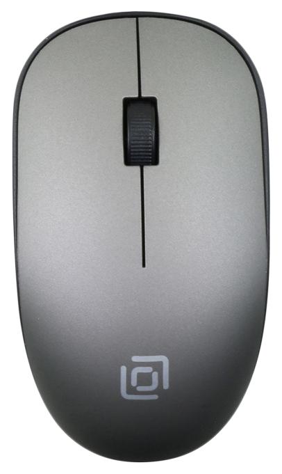 Беспроводная мышь OKLICK 515MW Grey/Black