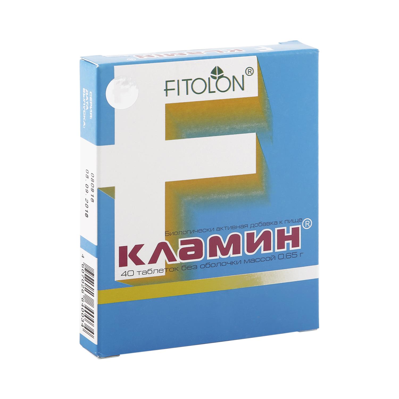 Купить Кламин таблетки 0, 65 г 40 шт., Фитолон