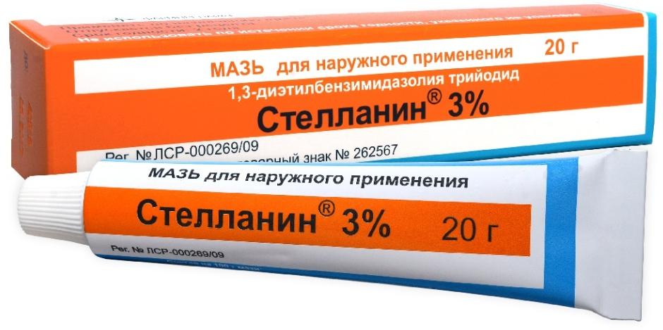 Стелланин мазь 3 % 20 г