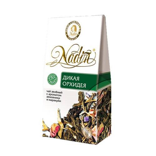 Чай зеленый листовой Nadin дикая орхидея 50 г