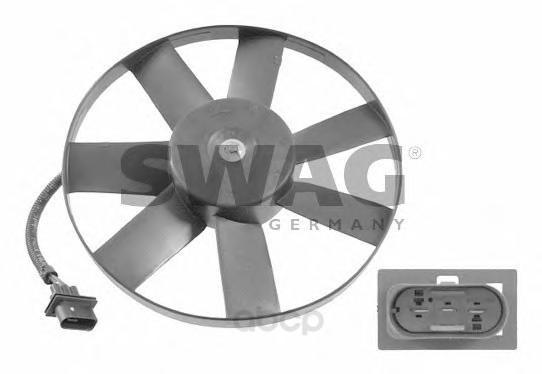 Вентилятор охлаждения двигателя Swag 99914748 фото