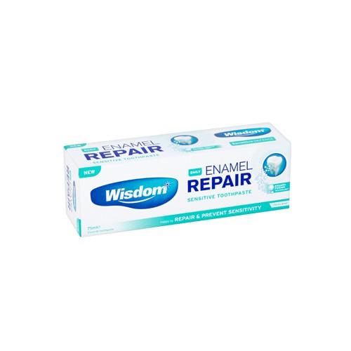 Зубная паста Wisdom Daily Enamel Repair для восстановления поврежденной эмали 75 мл