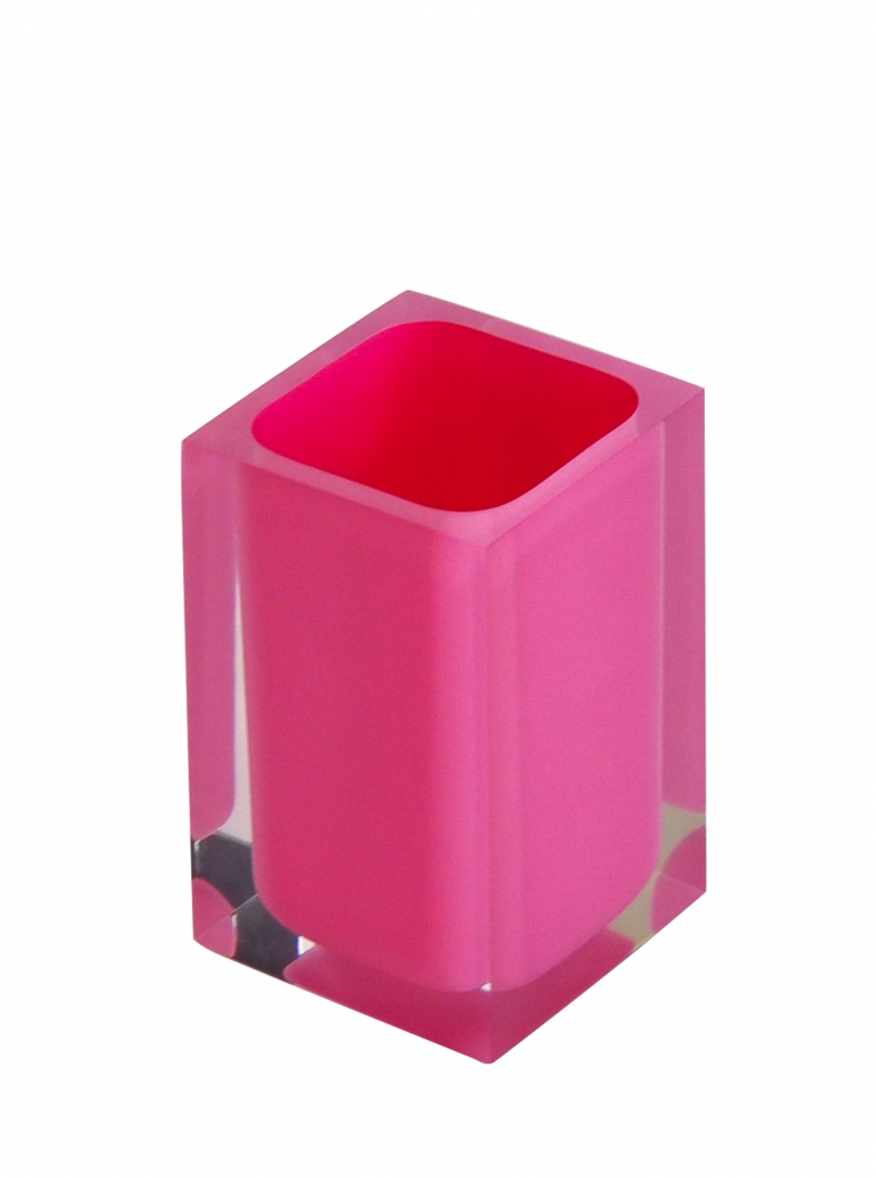 Стаканчик Colours розовый