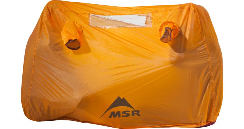 Палатка MSR Bothy желтая двухместная