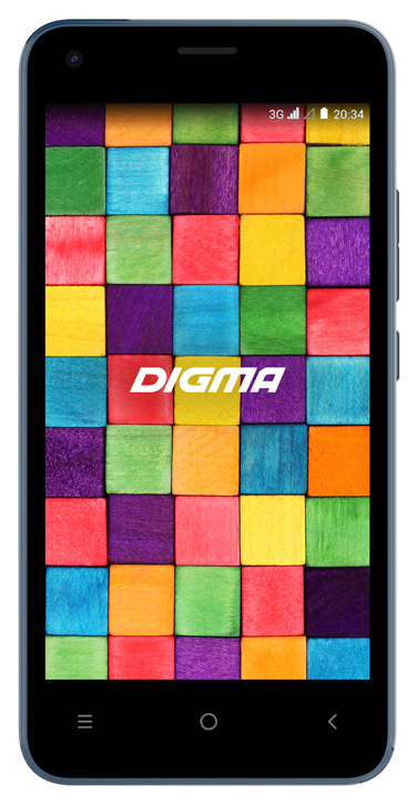 Смартфон Digma Argo 3G Linx 8Gb Blue фото