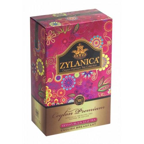 Чай черный листовой Zylanica ceylon premium collection английский завтрак FBOP 100 г фото