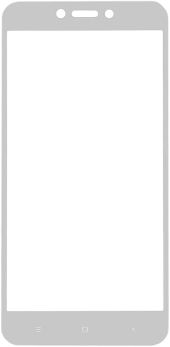 Защитное стекло GOSSO CASES для Xiaomi Redmi 5A/Redmi 4X White