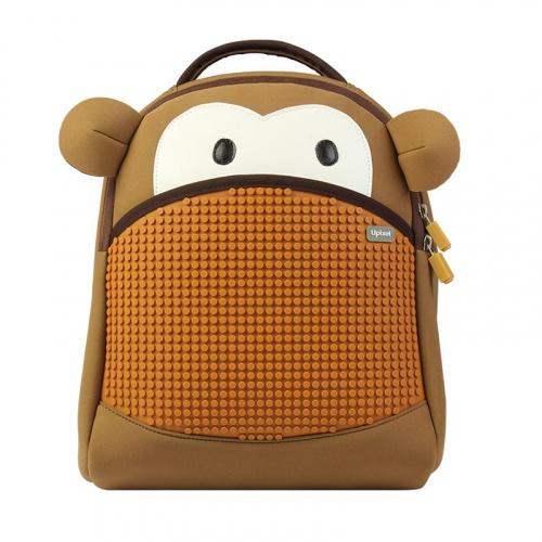 Купить Рюкзак детский Upixel пиксельный Обезьянка WY-A032, Школьные рюкзаки и ранцы