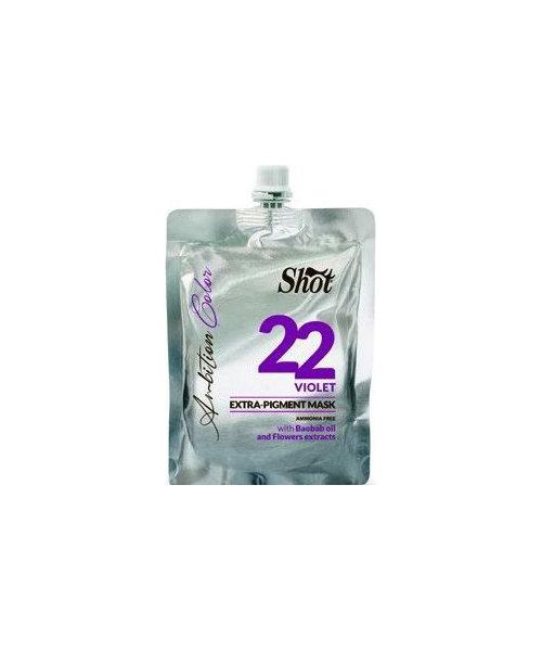 Маска для волос Shot Экстра Пигмент 22 - Фиолетовый 200 мл