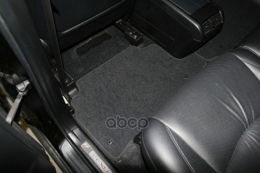 Коврики в салон Autofamily для LEXUS IS 250 2013, текстиль,серый