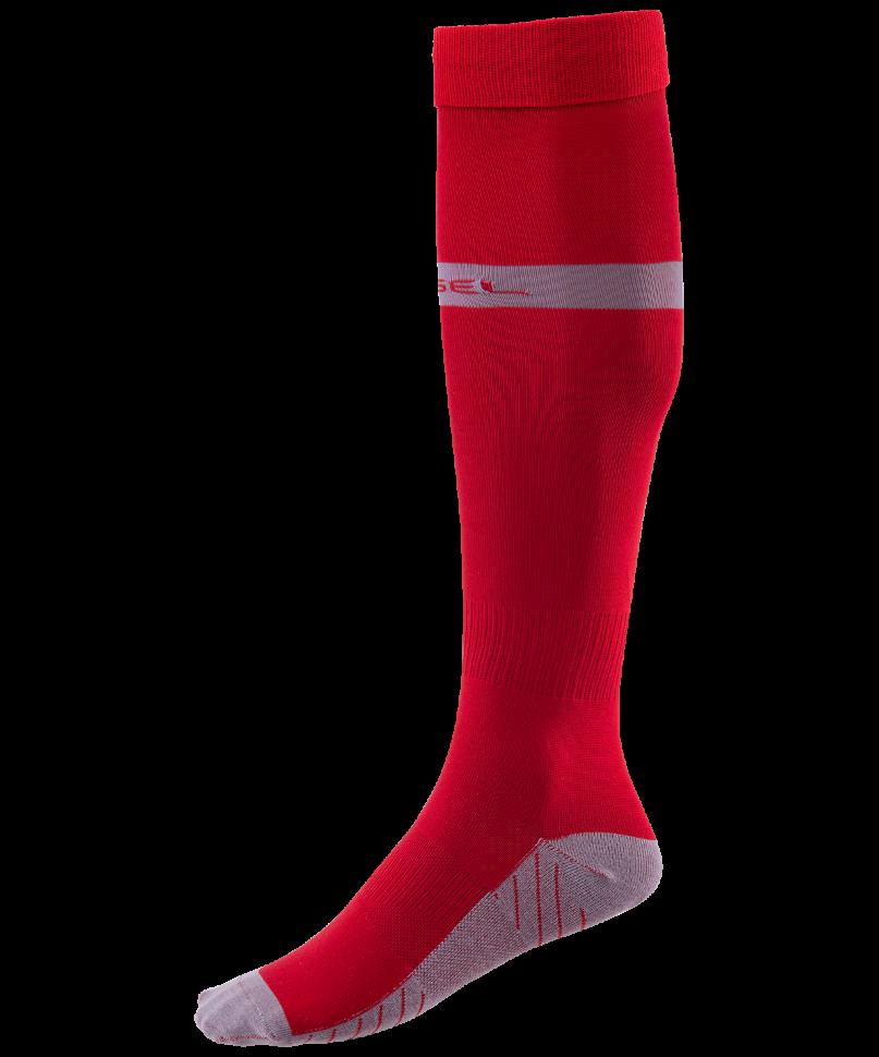 Гетры Jogel JA 003, красные/серые, 28