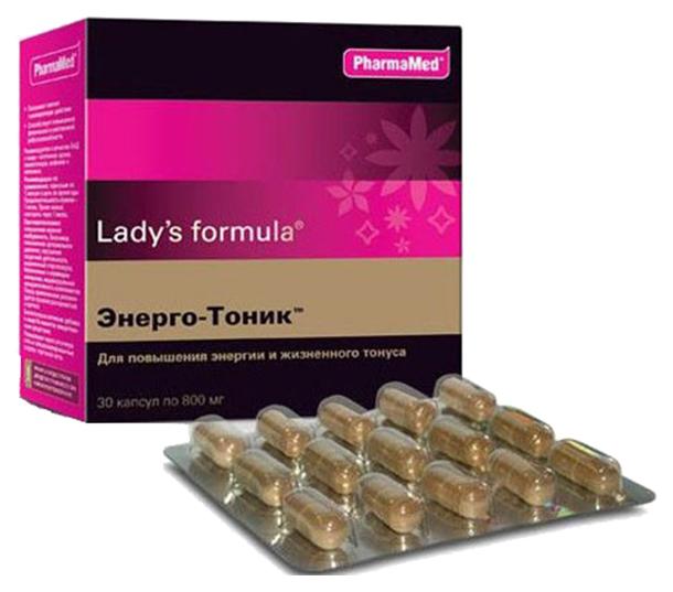 Lady's formula PharmaMed энерго тоник 30 капсул