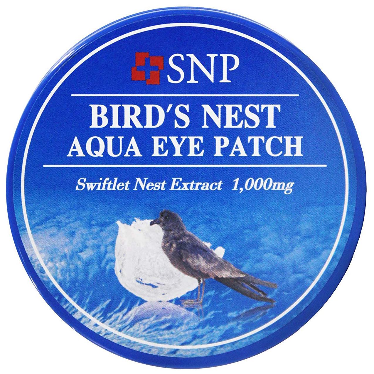 Купить Патчи для глаз SNP Bird's Nest Aqua Eye Patch 60 шт