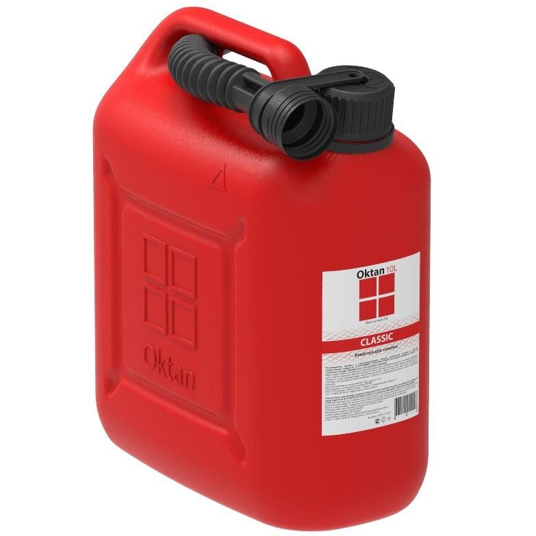 Канистра для бензина Oktan 10 л 2810x3100 красный