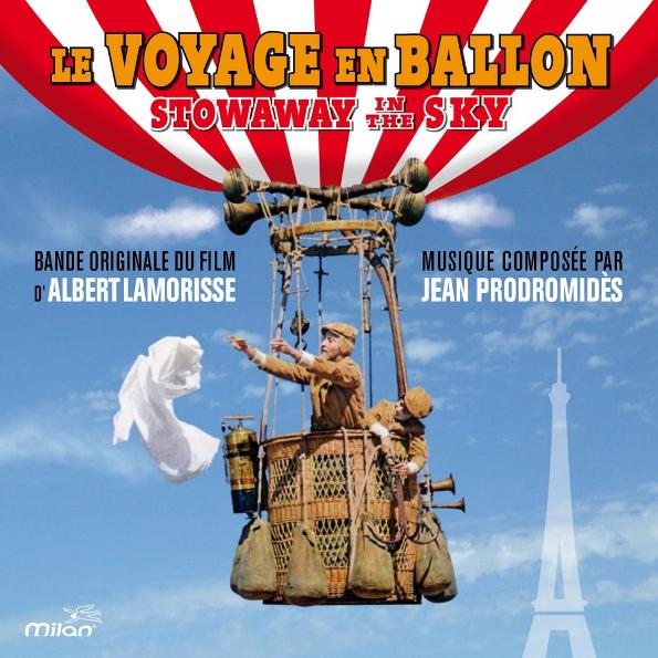 Аудио диск Soundtrack Jean Prodromides: Le Voyage En Ballon - Stowaway In The Sky (CD)