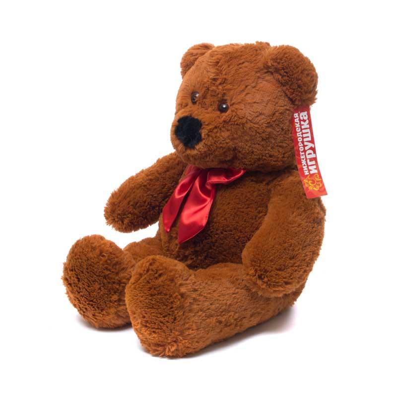 Купить Мягкая игрушка Медведь малый 70 см Нижегородская игрушка См-321-5, Мягкие игрушки животные