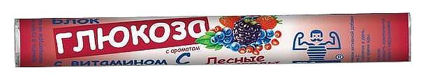 Купить Блок глюкоза с витамином С лесные ягоды, Блок Глюкоза с витамином С Dr. Schmidgall таблетки для рас. 18 шт. лесные ягоды