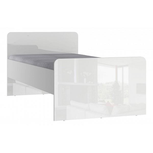 Кровать СтолЛайн Модерн СТЛ.322.11 90х190 см, белый/серый