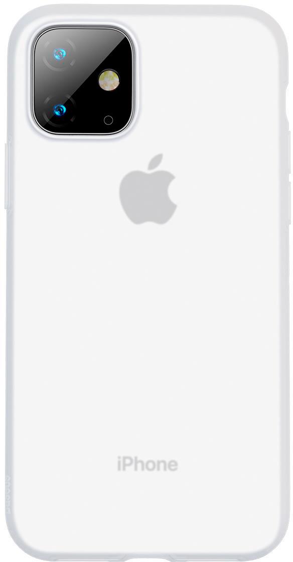 Чехол Baseus Jelly Liquid Silica Gel для Apple iPhone 11 2019 White
