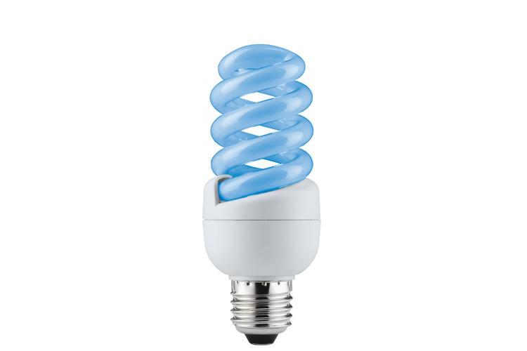 Лампа энергосберегающая Spirale 15W E27 Синий 88090