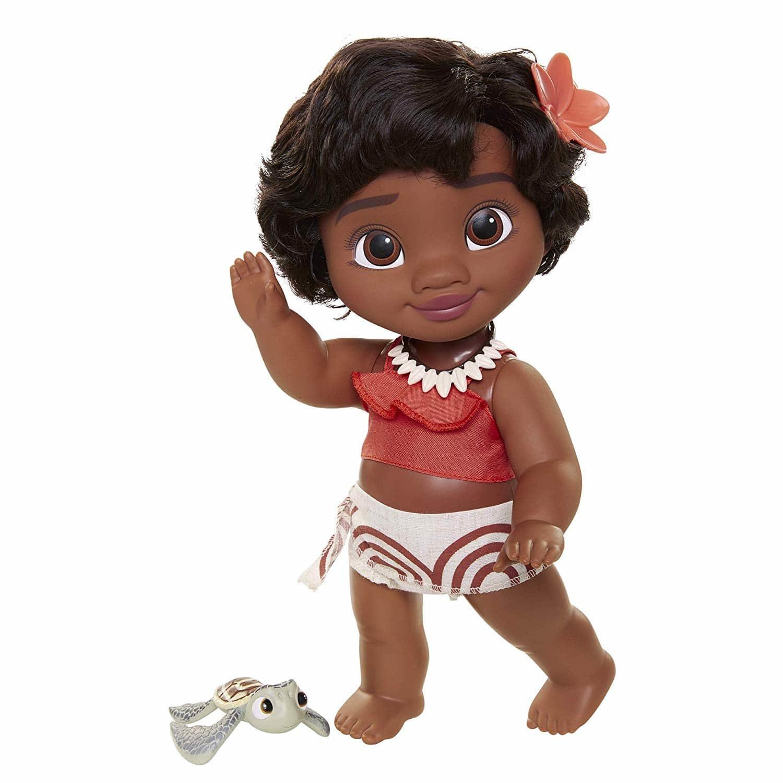 Купить Кукла Disney Princess Моана с черепашкой 72531, Классические куклы