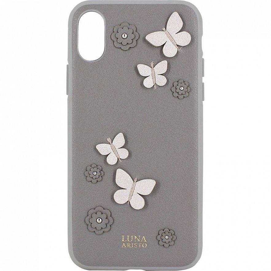 Чехол Luna Aristo Dale Series для iPhone XR Grey  - купить со скидкой